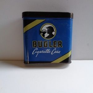 Vintage 1940s Bugler Cigarette Case With Fliptop